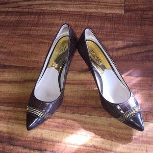 Michael Kor heels size 6 Dark brown